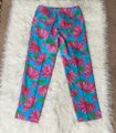 Lilly Pulitzer Turquoise Pink Resort Fit Kissue Printed Capris Size 0 (XS, 25) Lilly Pulitzer Turquoise Pink Resort Fit Kissue Printed Capris Size 0 (XS, 25) Image 2
