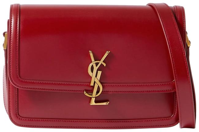 Item - Monogram Solferino Medium Red Lambskin Leather Cross Body Bag