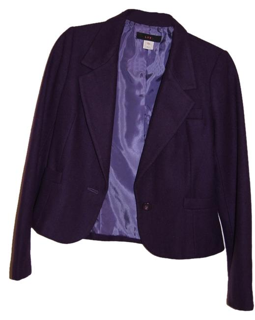 lux purple Blazer