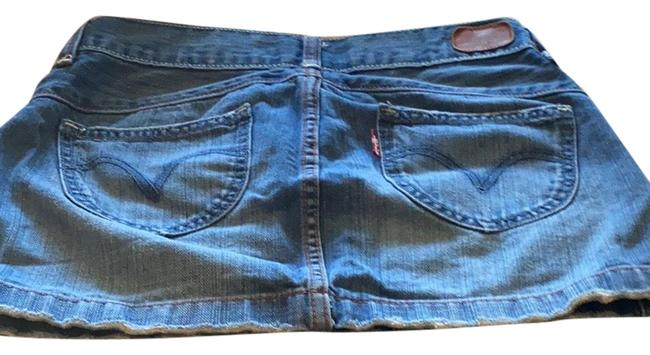 Item - Blue with Rust Stitching None Skirt Size 2 (XS, 26)