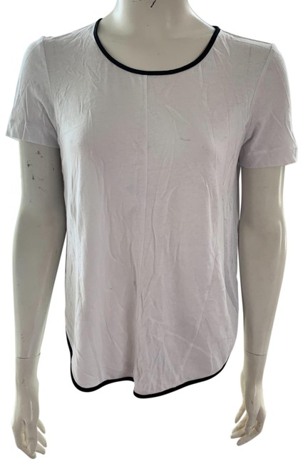 Item - Multicolor White and Black Blouse Size 2 (XS)