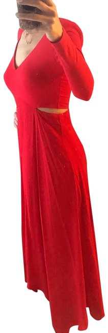 Item - Red Cc911082518 Mid-length Cocktail Dress Size 6 (S)