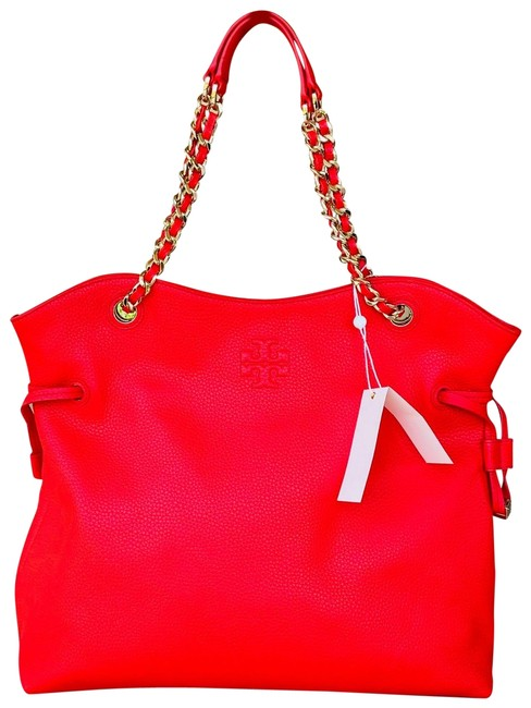 Item - Thea Chain Red Leather Shoulder Bag