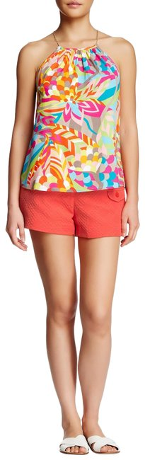 Item - Orange Geranium Ricardo Shorts Size 14 (L, 34)