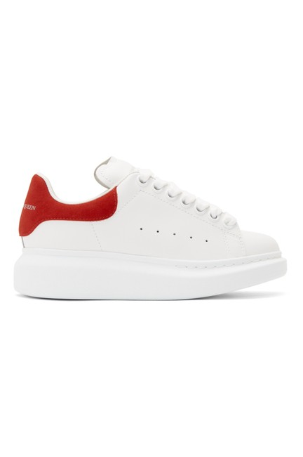 Item - White and Red Trainers Sneakers Size EU 40 (Approx. US 10) Regular (M, B)