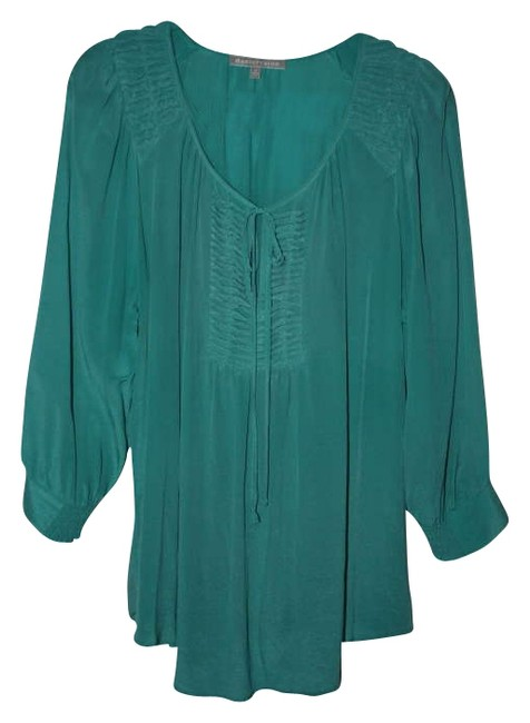 Item - Jade Tie Neck Blouse Size 20 (Plus 1x)