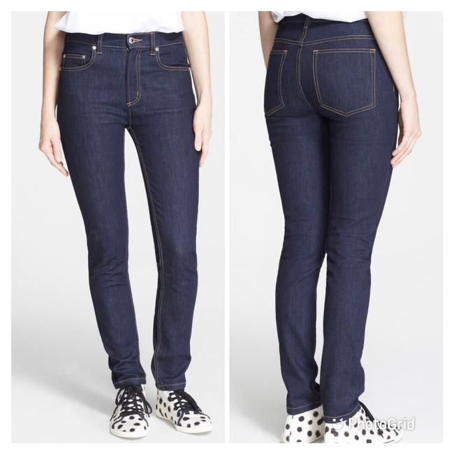 Item - Indigo/ Dark Wash Blue Rinse Ella High Skinny Jeans Size 8 (M, 29, 30)