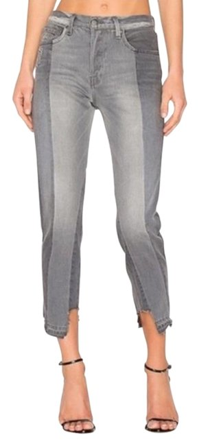 Item - Gray Light Wash Nouveau Le Mix Capri/Cropped Jeans Size 25 (2, XS)