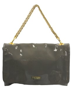 HALSTON Heritage Patent Leather Shoulder Bag
