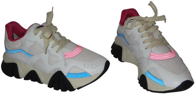Item - White Multi Squalo Trainers Sneakers Size EU 38.5 (Approx. US 8.5) Regular (M, B)