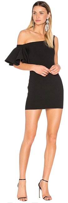 Item - Black Greta Women's Mini Off Shoulder Short Cocktail Dress Size 2 (XS)