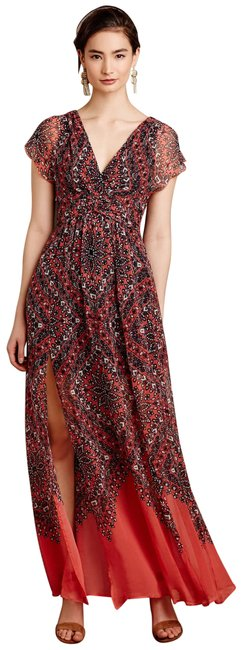 Item - Print Multi Twelfth Street By Cynthia Vincent Samira Long Casual Maxi Dress Size 4 (S)