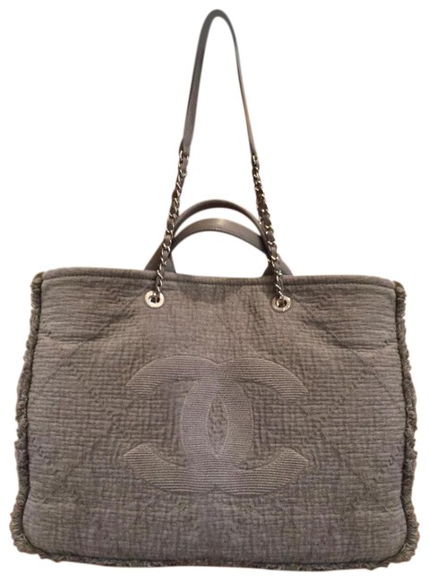 Item - Shopping Deauville Grey Canvas Tote