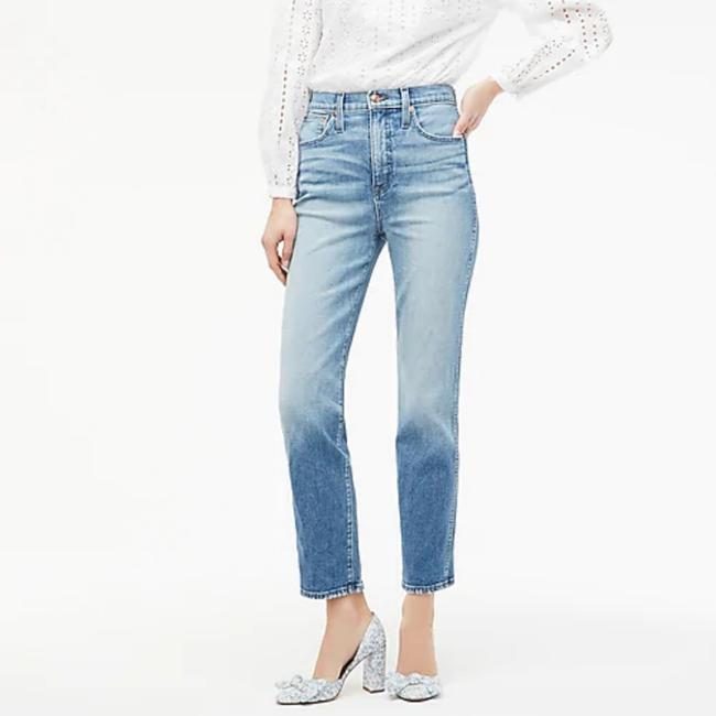 Item - Blue Light Wash Stovepipe In Warm Atlantic Straight Leg Jeans Size 32 (8, M)