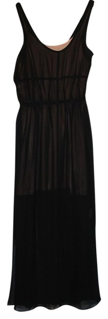 Black Maxi Dress by Silence + Noise Urban Outfitters Sheer Maxi