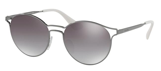 Item - Silver New Rounded Mirrored Spr 62s 5av6t2 Free 3 Day Shipping Sunglasses