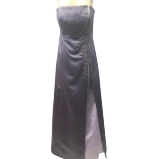 Item - Purple F1286 Long Formal Dress Size 8 (M)