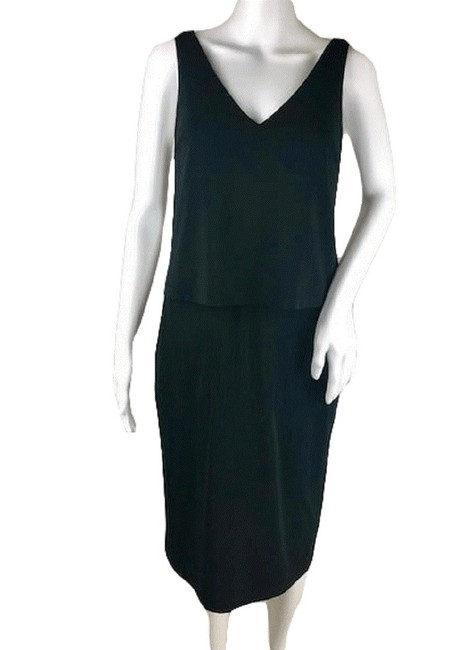 Item - Black Small (Sku 001002-3) Long Casual Maxi Dress Size 6 (S)