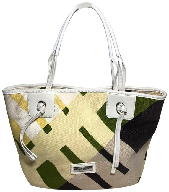 Item - Large Multi-color Canvas Tote