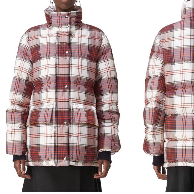 Item - Selsey Check Down-fill Puffer Jacket Coat Size 12 (L)