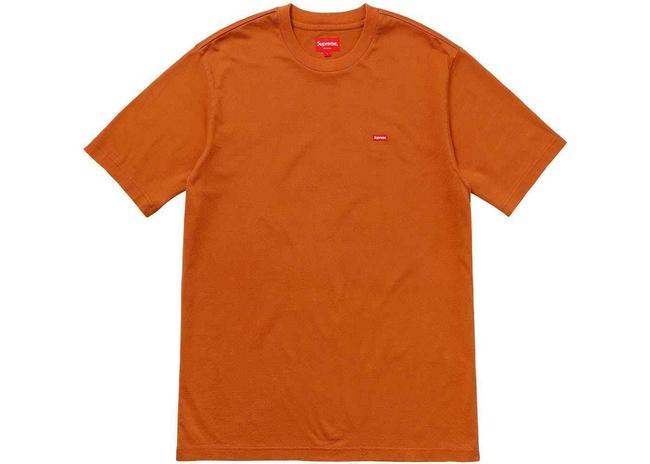 Item - Rust Orange Box Men's Small Logo Ss18 Medium T-shirt Tee Shirt Size 10 (M)