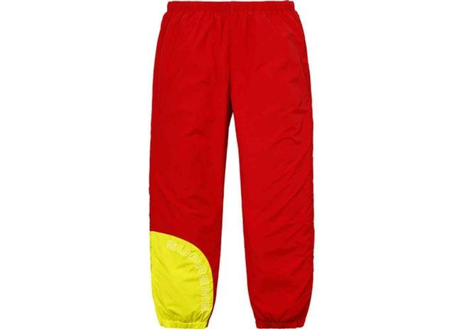 Item - Red Yellow Men's Corner Arc Track Ss18 Small Activewear Bottoms Size 6 (S, 28)