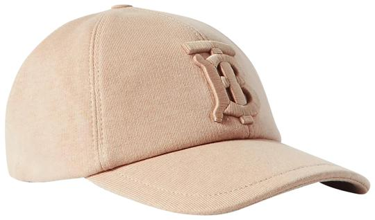 Preload https://img-static.tradesy.com/item/27885931/burberry-beige-jersey-appliqued-cotton-jersey-baseball-cap-size-medium-hat-0-1-540-540.jpg