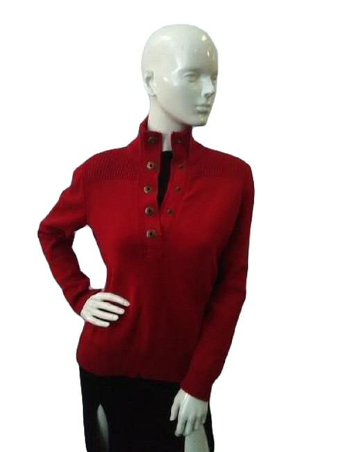 Preload https://img-static.tradesy.com/item/27886159/lauren-ralph-lauren-70-s-size-small-sku000041-red-sweater-0-0-650-650.jpg