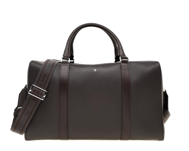 Montblanc Duffle Meisterstuck Brown Leather Weekend/Travel Bag Montblanc Duffle Meisterstuck Brown Leather Weekend/Travel Bag Image 1