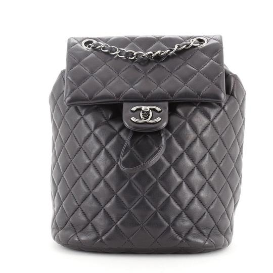 Preload https://img-static.tradesy.com/item/27886436/chanel-urban-spirit-quilted-lambskin-small-blue-leather-backpack-0-1-540-540.jpg