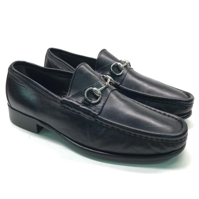 Gucci Black Horsebit Mens Leather Loafers / / Flats Size US 10 Regular (M, B) Gucci Black Horsebit Mens Leather Loafers / / Flats Size US 10 Regular (M, B) Image 1