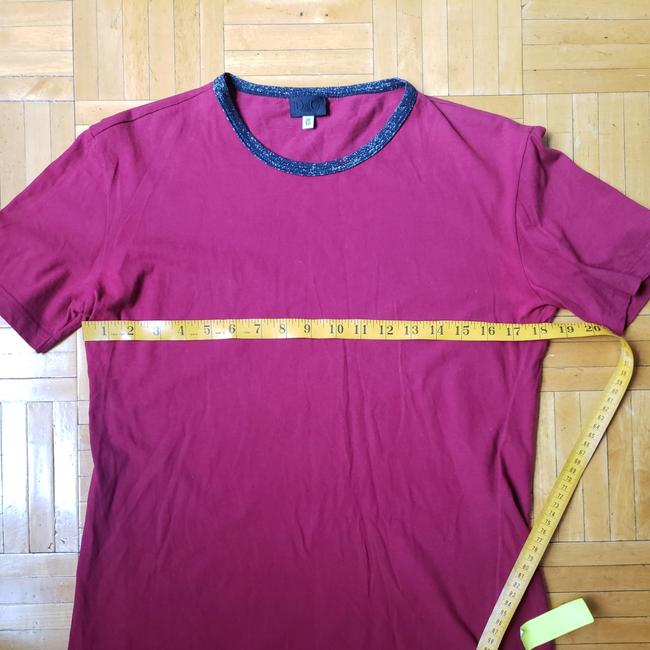 Item - Crimson Sequined Round Neck Tee Shirt Size 2 (XS)