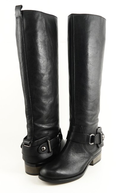 Item - Black Natale Leather Pull Riding Boots/Booties Size US 5 Regular (M, B)