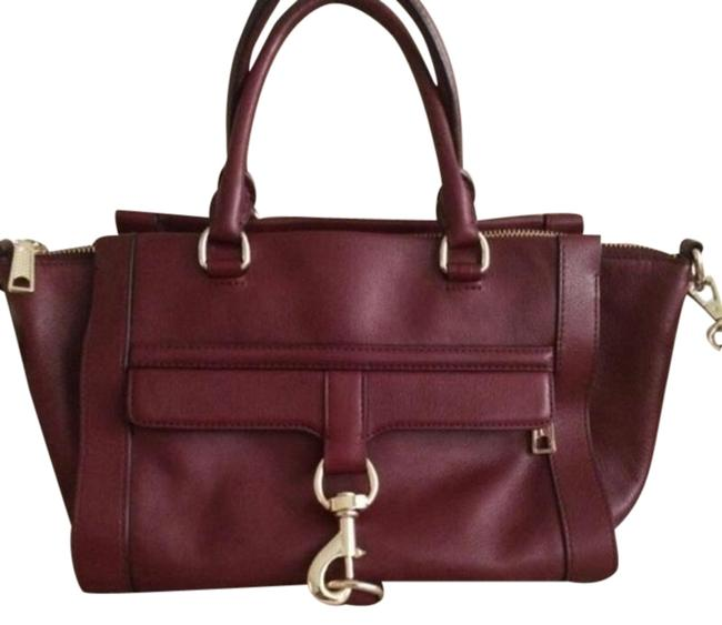 Item - Bowery Burgundy Leather Satchel