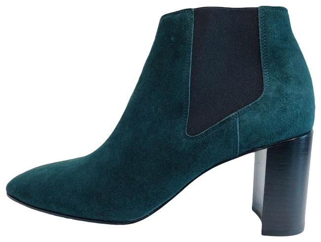 Item - Forest Green Aslen Suede Chelsea Ankle Made In Italy Boots/Booties Size EU 36 (Approx. US 6) Regular (M, B)