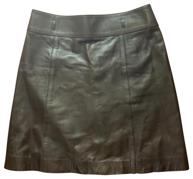 Item - Brown Leather Skirt Size 4 (S, 27)
