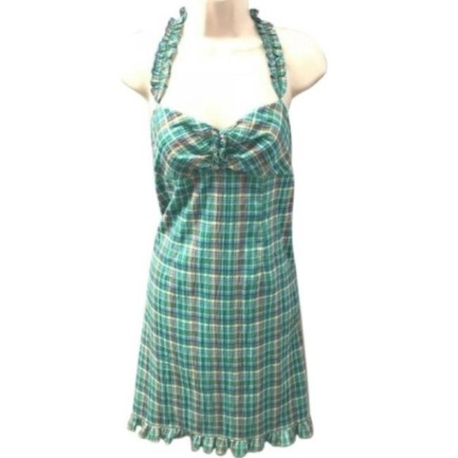 Item - Green Silver Mssp Night Out Dress Size 8 (M)