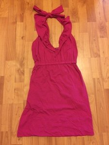 Banana Republic short dress Hot pink on Tradesy