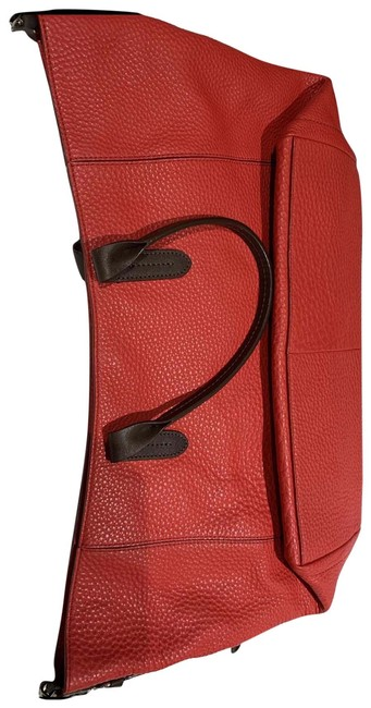 Item - Pebble Red Leather Tote