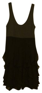 Express short dress Black and gray on Tradesy