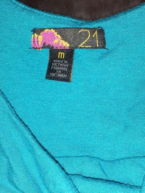 Forever 21 T Shirt Teal