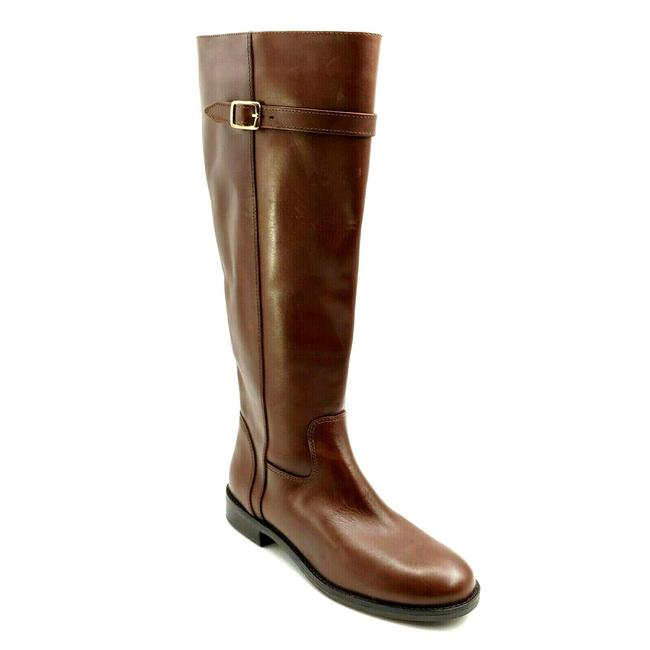Item - Brown Womens Antonia Leather Knee High Riding Boots/Booties Size US 8 Regular (M, B)