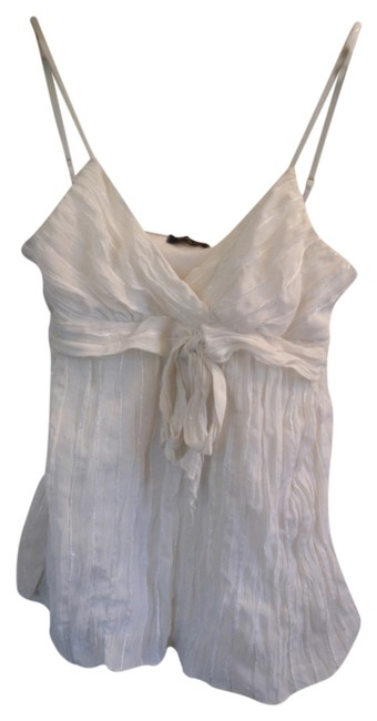 Other Sheer Adjustable Straps Top White