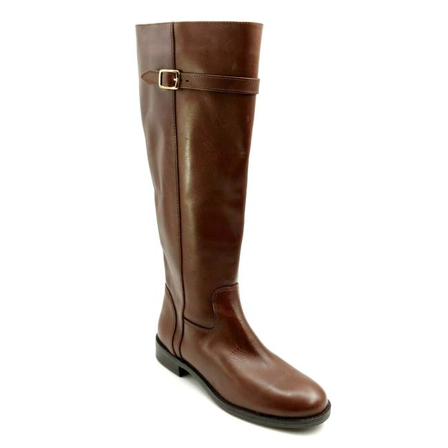 Item - Brown Womens Antonia Leather Riding Boots/Booties Size US 8 Regular (M, B)