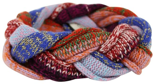 Item - Multi-color Wool Braided Headband M/57 476883 9888 Hair Accessory