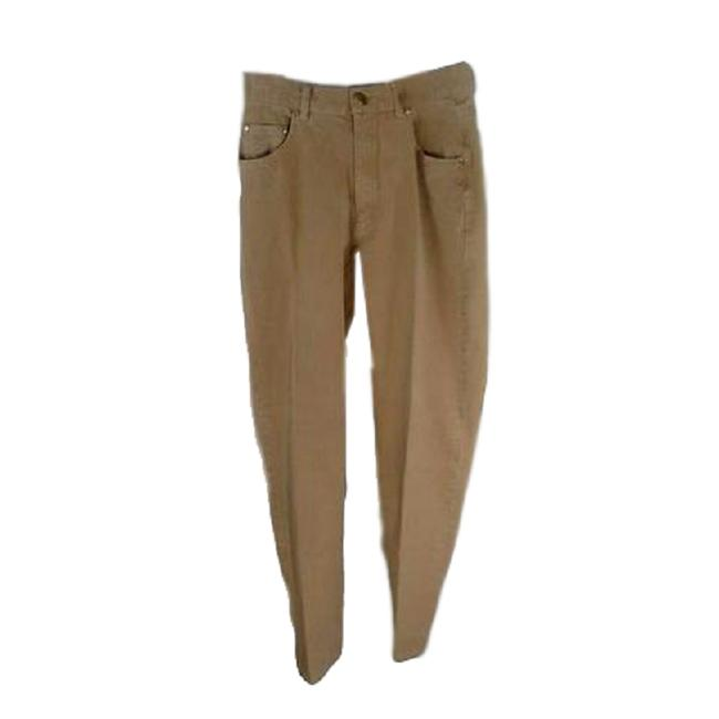 Item - Tan Medium Wash (Sku 000237-18) Straight Leg Jeans Size 36 (14, L)