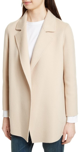 Item - Cream (Nwt) Sileena Cashmere / Wool Open Face Coat Size 6 (S)