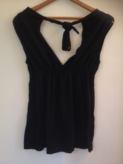 Other Cut-out Tie Flash Sale Top Black