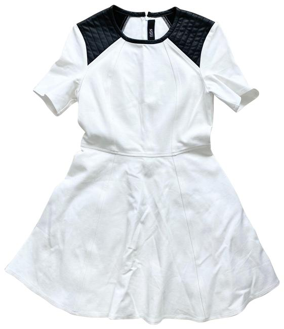 Item - White By Yigal Azrouël Fit & Flare Short Casual Dress Size 6 (S)