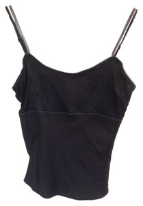 Wet Seal Silk Crop Top Black